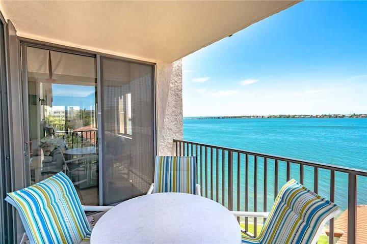 Bahia Del Mar P-401, 2 Bedrooms, Sleeps 5, Heated Pool, Spa, WiFi, Bay Front