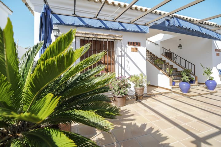 "Cozy Holiday Home ""Casa La Torre"" with Wi-Fi, Air Conditioning & Terrace; Parking Available"