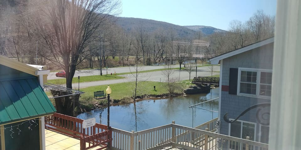 Binnekill Views Apt.1 in the Catskill Mountains