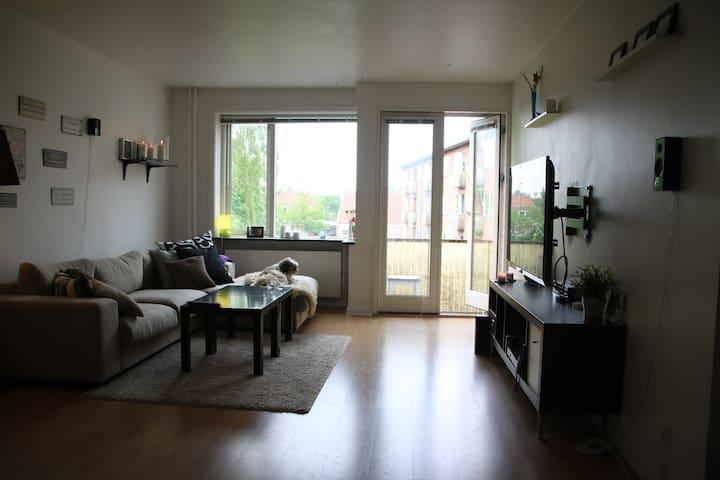 Fin lejlighed tæt på strand, skov og køge centrum - Køge - Apartment