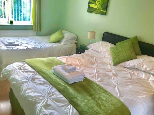 Private En-Suite Bed Room sleeps maximum 3 people