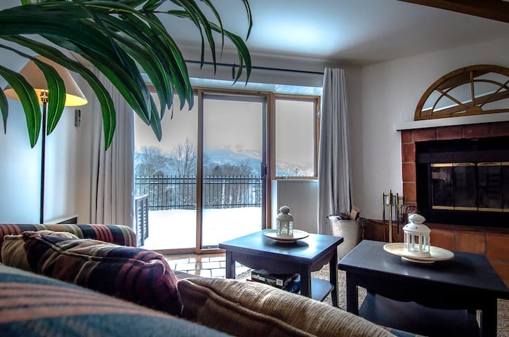 Cozy Tremblant condo, just minutes from slopes!