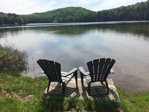 Cottage with private beach, month only (30 days m)