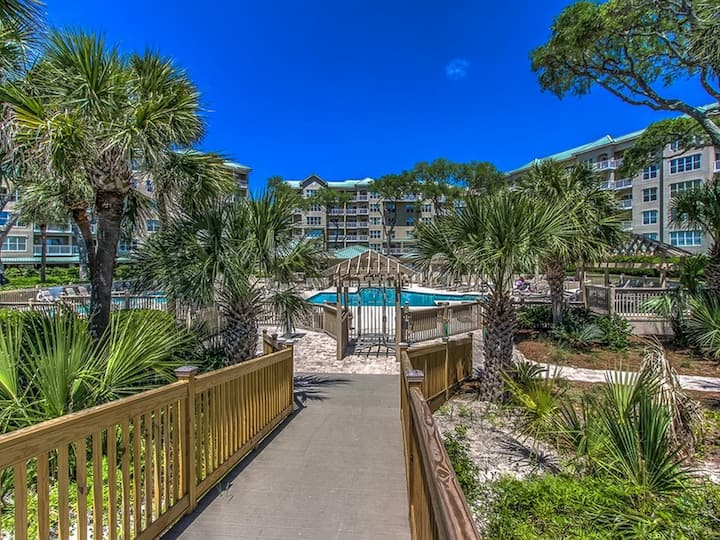 6403 Hampton Place ~ Just steps from the Beach!