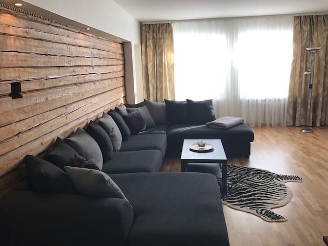Big Summer Apartment with Sauna 5+1