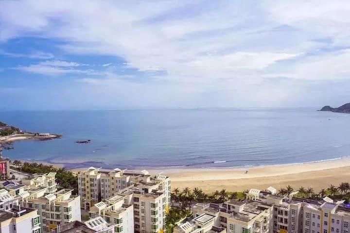 阳江十里银滩,海景两房一厅家庭公寓楼