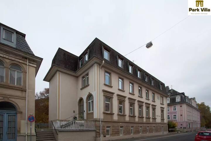 Park Villa Apartments 04,small groups-send request - Bad Kissingen