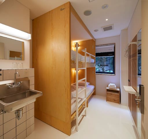 MUSTARD HOTEL SHIBUYA PRIVATE BUNK TWIN