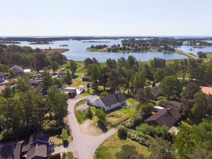 Magical villa in the summer town of Kalmar