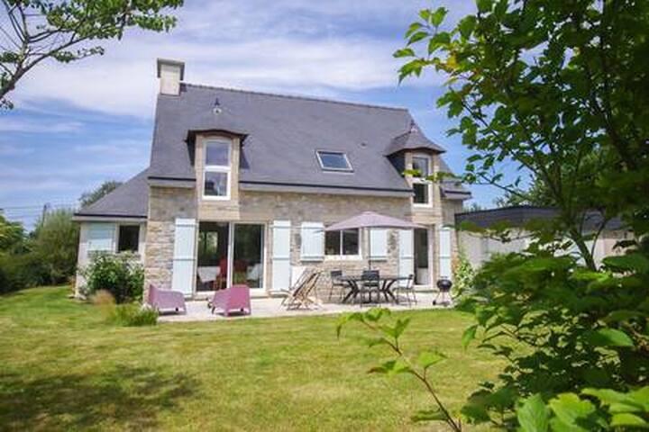 Britton family house, beach, quiet village