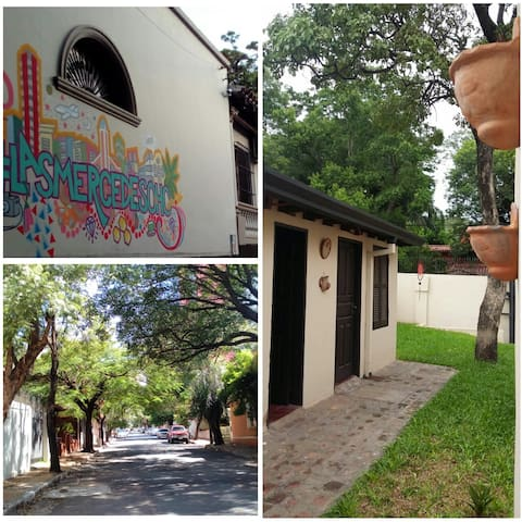 La privacidad de una casa al precio de un hostel! - Asunción - Dom
