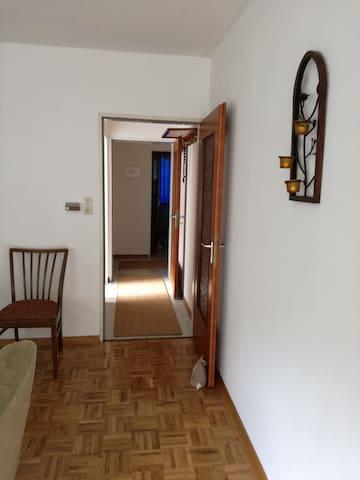 Ferienwohnung,sonniger Balkon mit schönem Ausblick - Zorge - Apartment