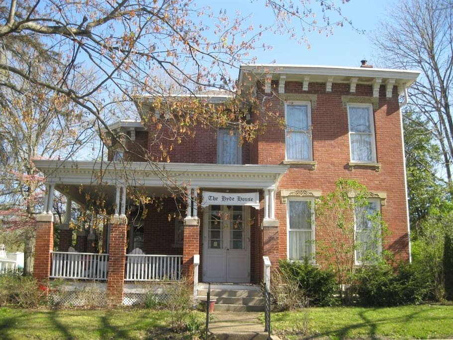 Hyde House Bed And Breakfast Nelsonville Ohio