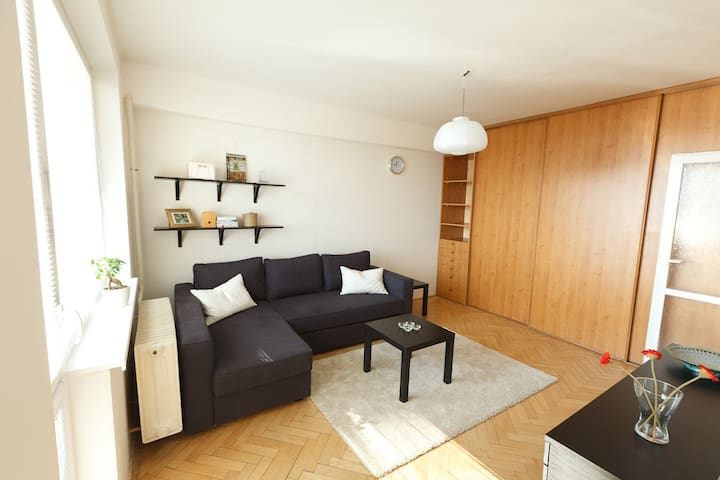 Sunny Apartment in Kosice City Center