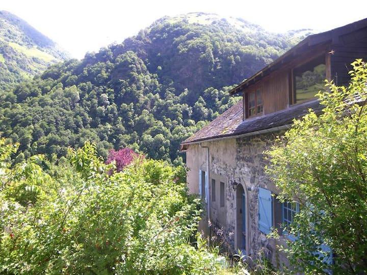 Gîte+jardin (3 pers.) Borce, au cœur des montagnes