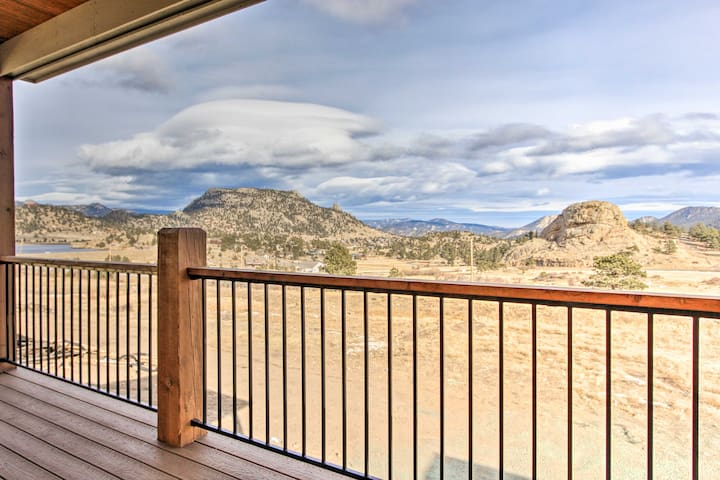 NEW! 3BR Estes Park Condo w/Mtn. Views & 2 Decks!