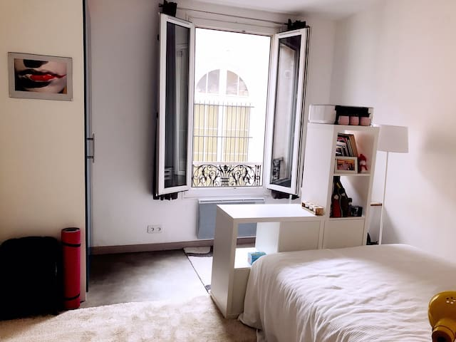 Studio 20m close to 'Promenade plantée' in Paris