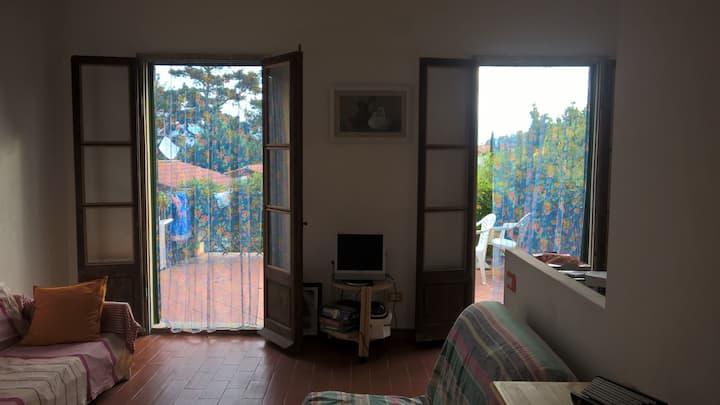 Casa nel verde per famiglie con bambini - Elba
