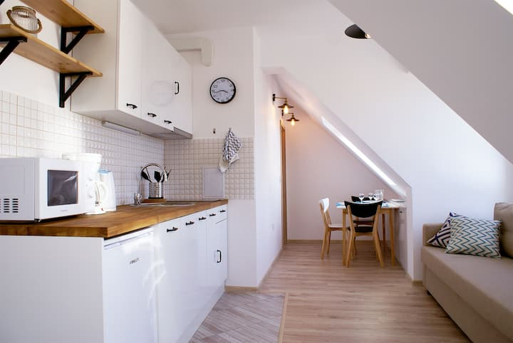 Newly Renovated Studio in Burgas - Seagull's Nest