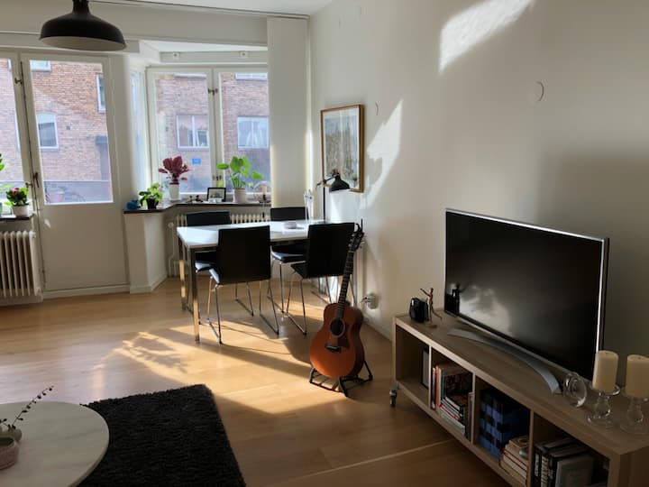 Central Lund - Bright, clean and comfortable