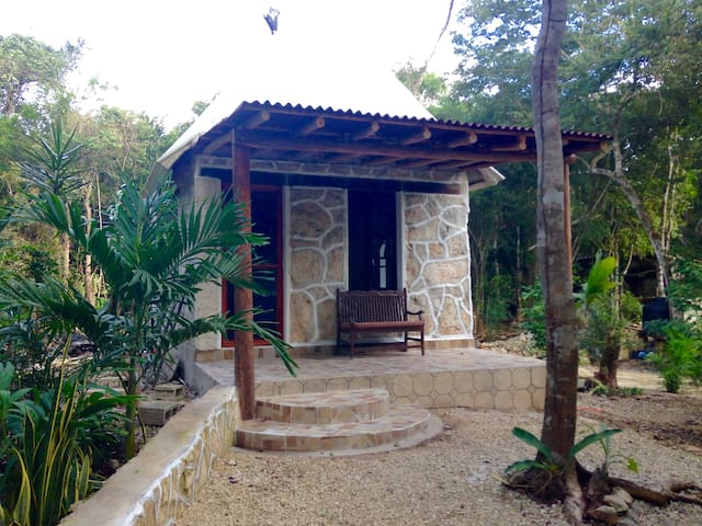Mayan Paradise Retreat Jungle Cabin Wellness - 圖倫 - 小木屋