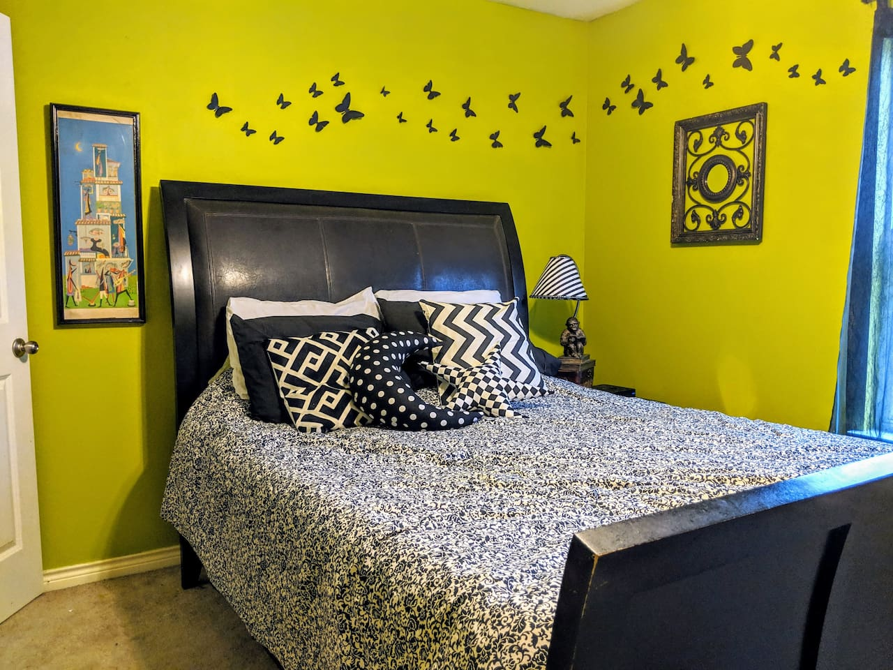 """If you're looking for an AirBnb with amazing hospitality and a stunning cozy bedroom definitely stay here!"" ""Staying at Scott's place was a dream."""