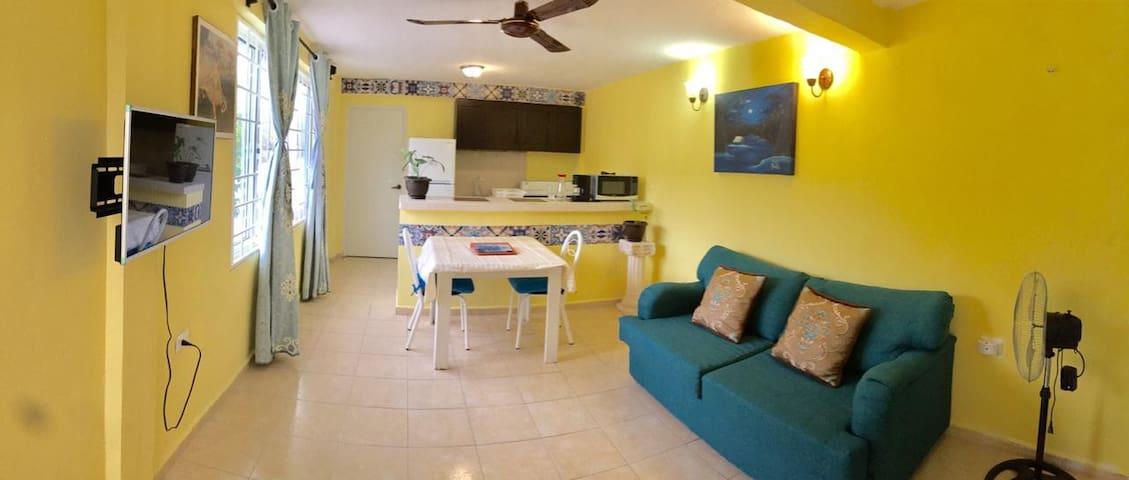 Departamento Doble Con Cocina 1 Casa Laguna Manatí