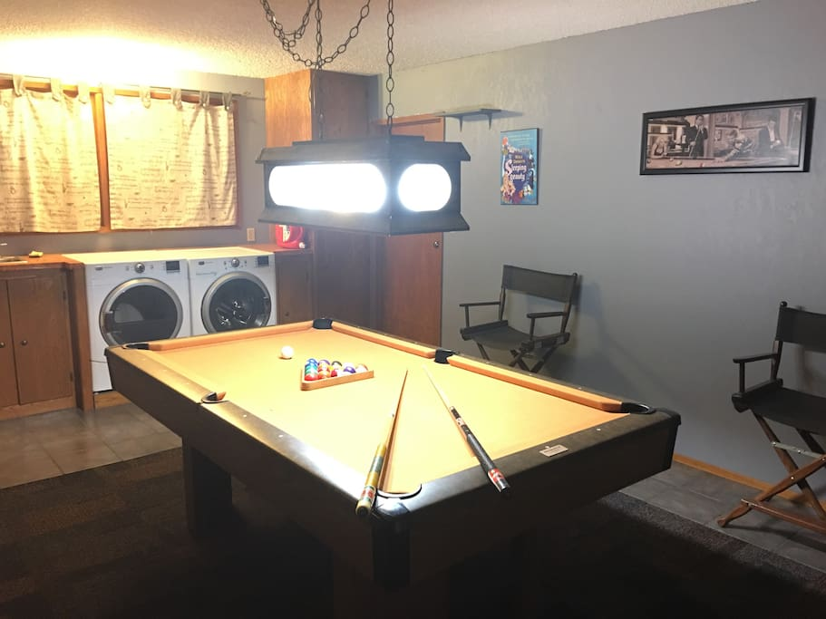 Game room & washing and drying