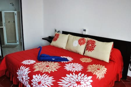 Brand New Studio w/ King Bed, Breakfast Included!! - Isla Mujeres