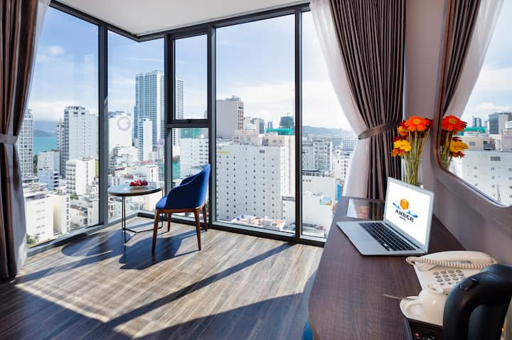 Amber Hotel Nha Trang|Deluxe City View (Room Only)