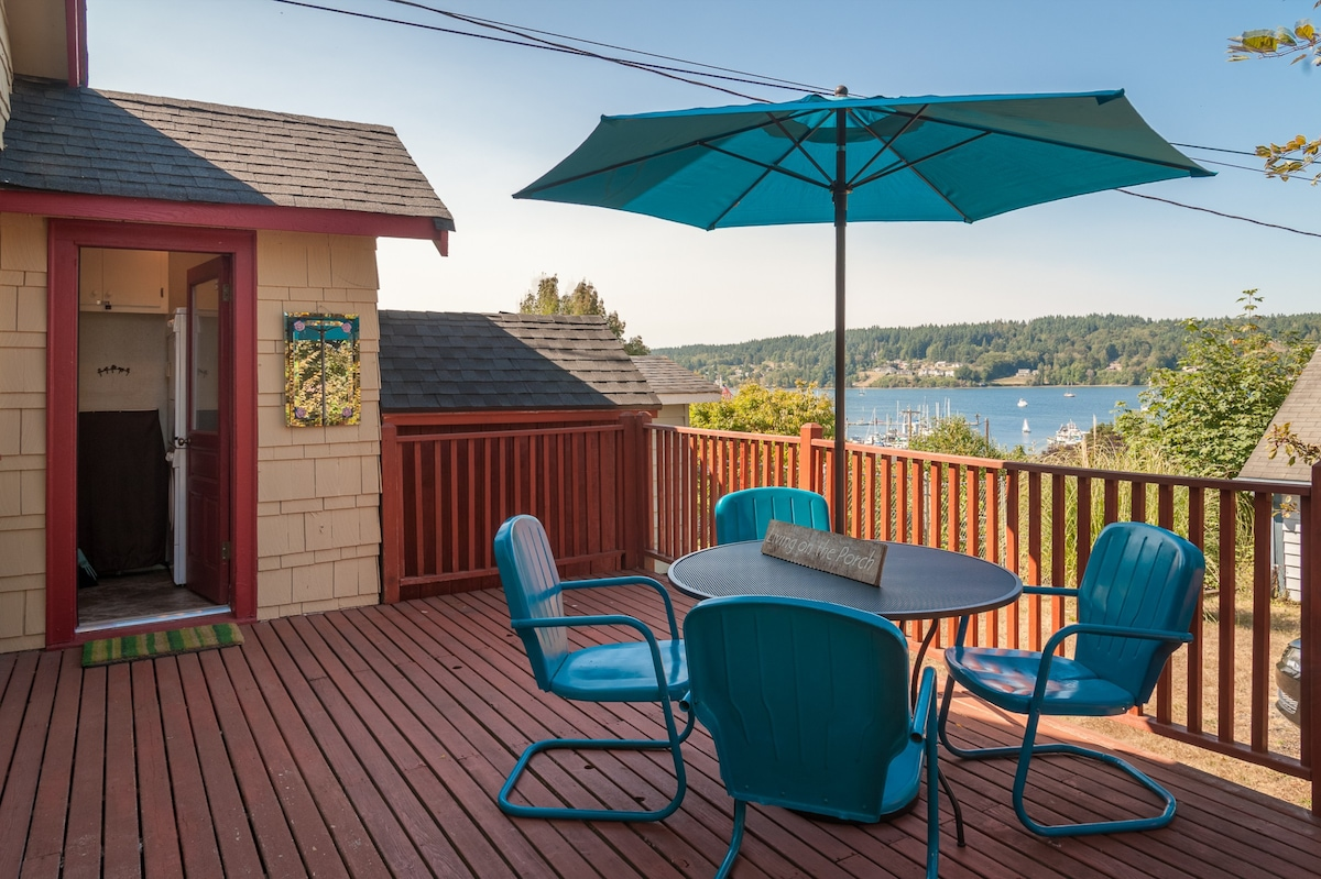 Our Favorite Part Of This Home: The Bay View Balcony!