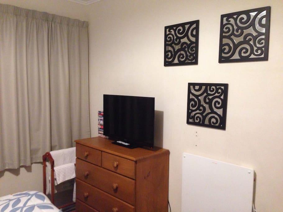 TV, panel heater