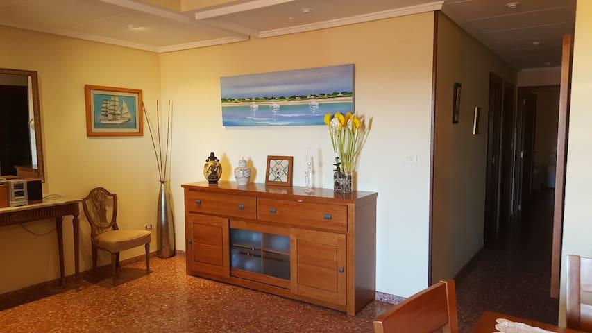 Apartamento junto a la playa - Sueca - Lägenhet