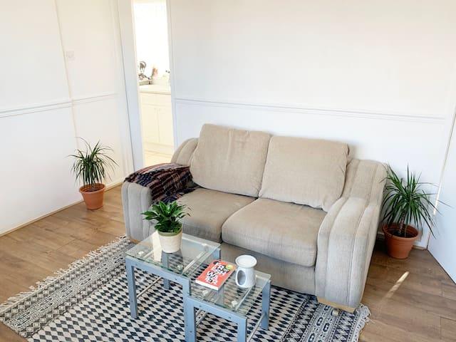 Scandinavian smart, 1 bed flat in Durham