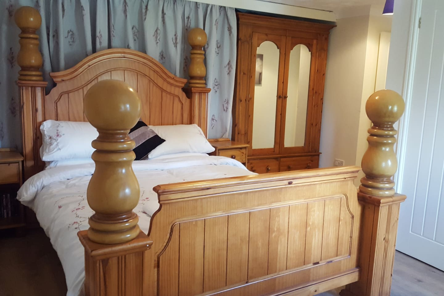 A dream bed. We can do blow up bed for older children. For £5 a night per child to cover breakfast.