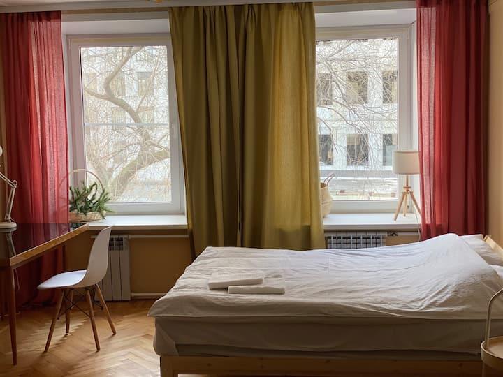 Просторная и уютная квартира на Цветном бульваре
