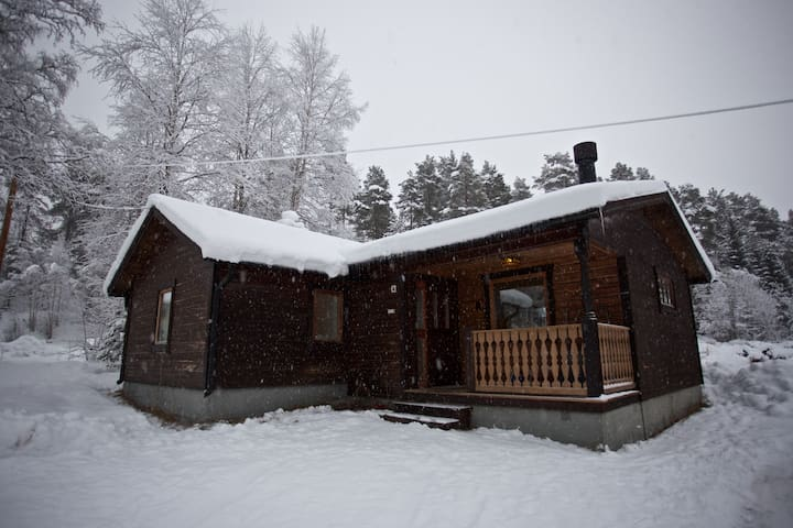 The Cottage, with room for 2 cars.