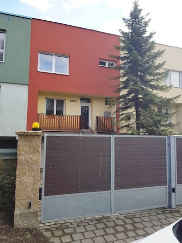 Apartmán s garáží a terasou v Kroměříži