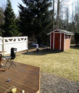 Bright 2BR rowhouse apt with SAUNA and backyard - Oulu - Huoneisto