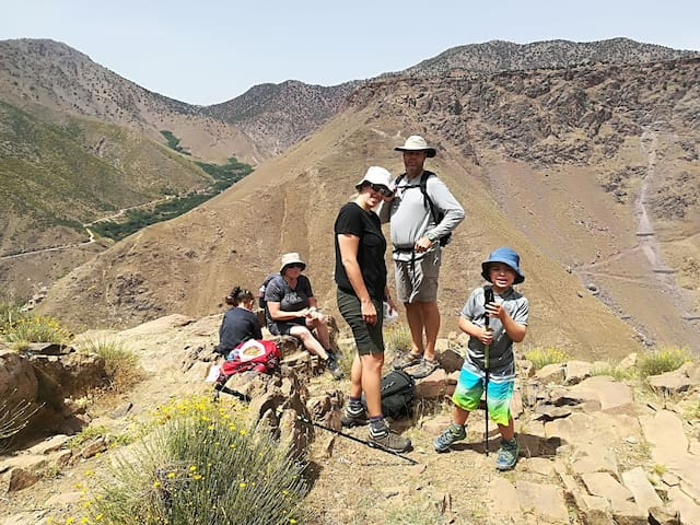 #trekking in high atlas