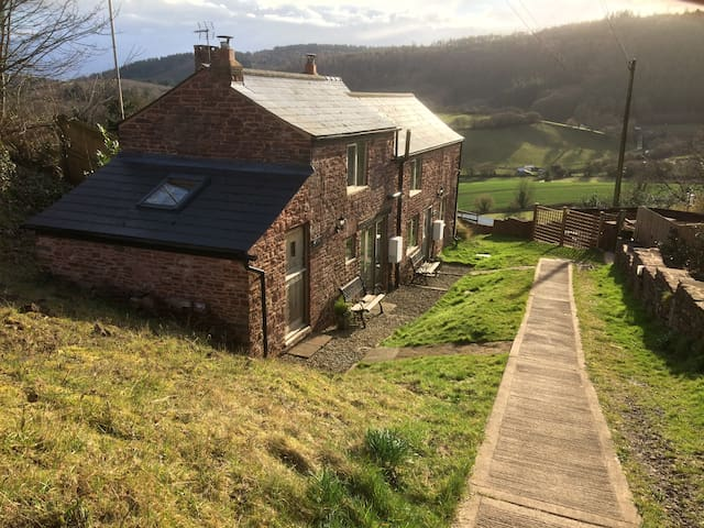 Romantic Cottage, with views and wood burner