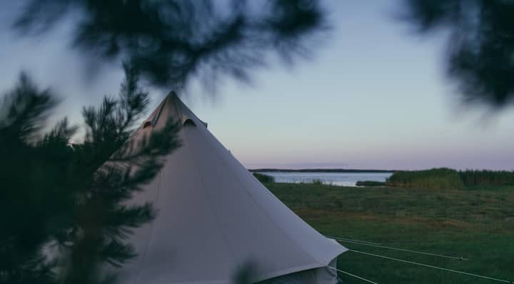 Private Luxurious Tent/Saaremaa Seaside (4 people)