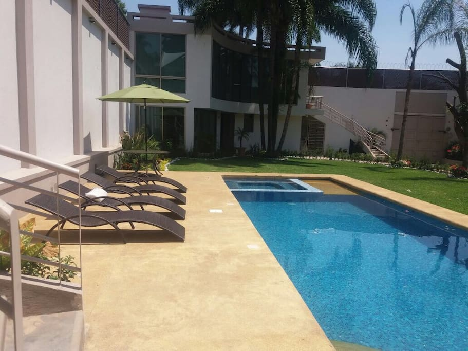 Pool and Garden