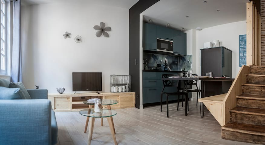 Votre salon cuisine