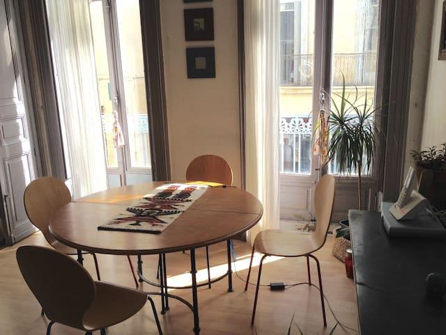 Chambre privée au coeur du centre historique - Montpellier - Appartamento