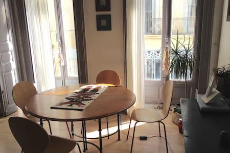 Chambre privée au coeur du centre historique - Montpellier - Lägenhet
