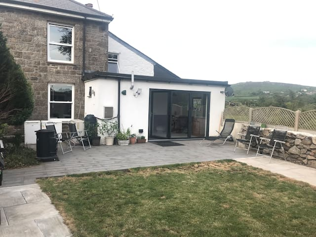 The Old Railway House Cottage @CarnBrea