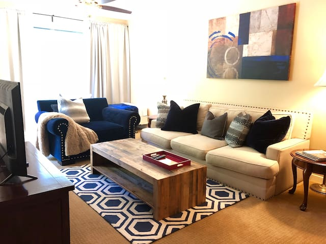 Modern 2bed1bath with parking in  Downtown.