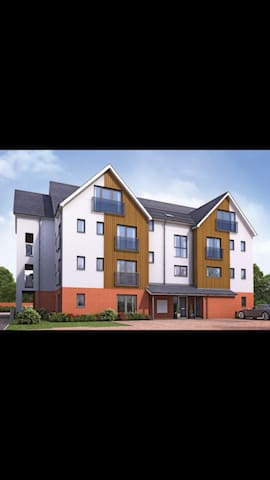 1 bedroom, new build apartment Oxted - Oxted - Apartamento