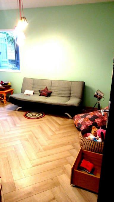 Grande chambre de 20 m2